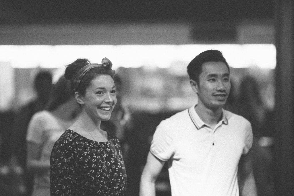 Aurore et Minh - bal swing à Paris
