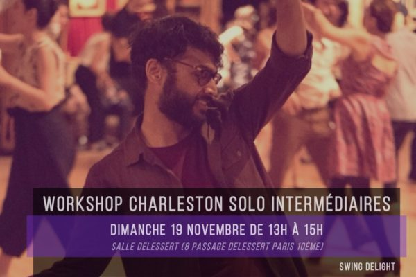 Swing Delight Workshop #13 – Charleston solo intermédiaires