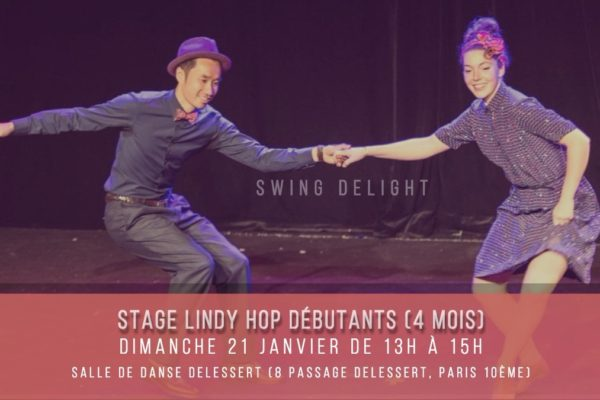 Swing Delight Workshop #16 – Lindy Hop Débutants