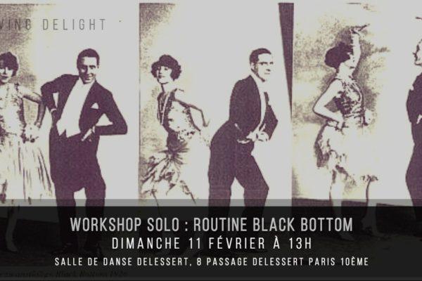Swing Delight Workshop #17 – Black Bottom