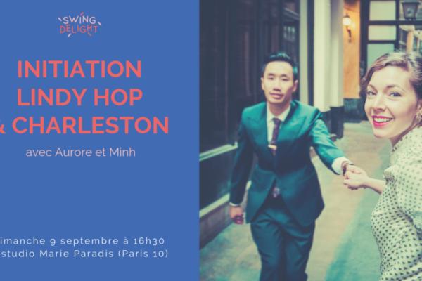 Initiation Lindy Hop Charleston – dimanche 9 septembre