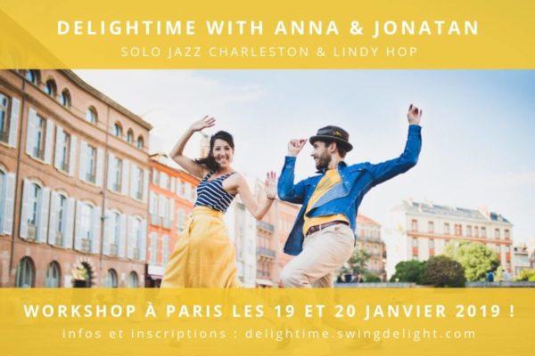 Delightime with Anna Rio & Jonatan Hedberg