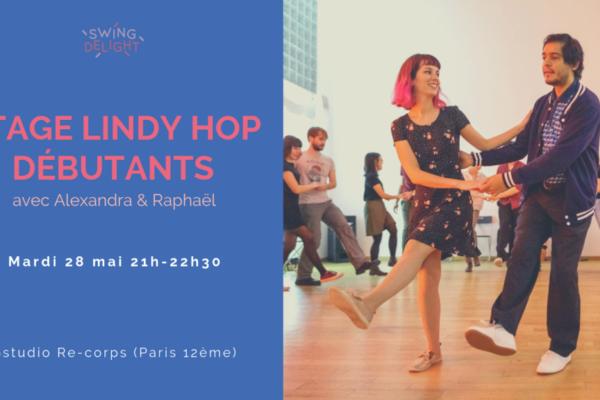Stage Lindy Hop Débutants – mardi 28 mai