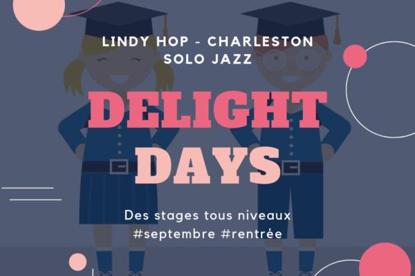 Delight Days – stages tous niveaux en septembre