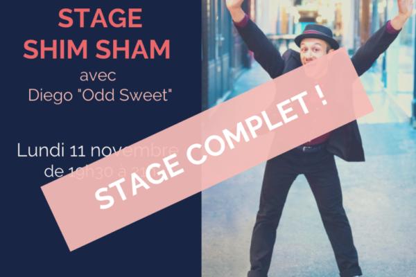 Stage Shim Sham – tous niveaux