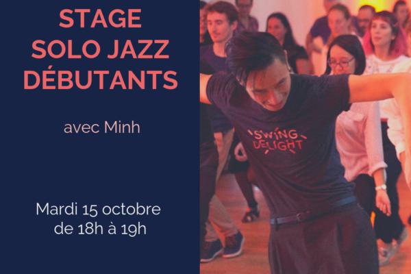 Stage solo Jazz débutants avec Minh