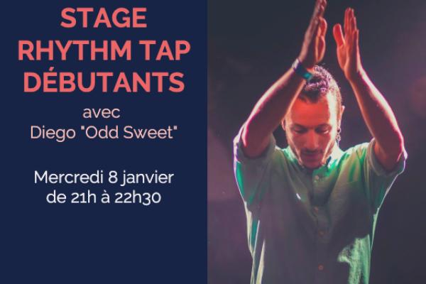 Stage de Rhythm Tap Débutants – 8 janvier
