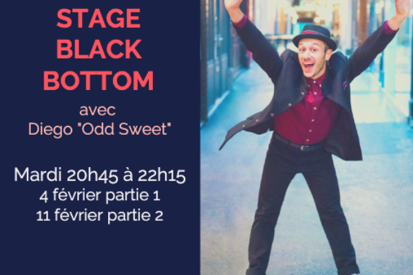 Stage Black Bottom – 4 et 11 février