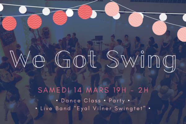 We Got Swing #15 – Eyal Vilner Swingtet