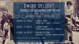 stage lindy hop