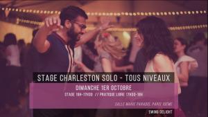 Solo Jazz Charleston - Stage tous niveaux