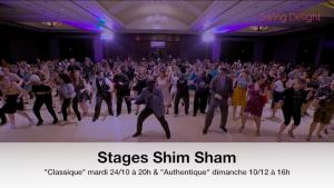 routine shim sham swing