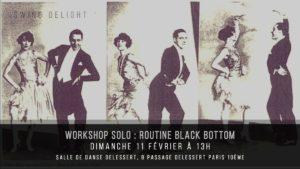 Stage Black Bottom avec Swing Delight