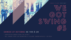 We Got Swing - Live Band Billy Collins Swinginparis