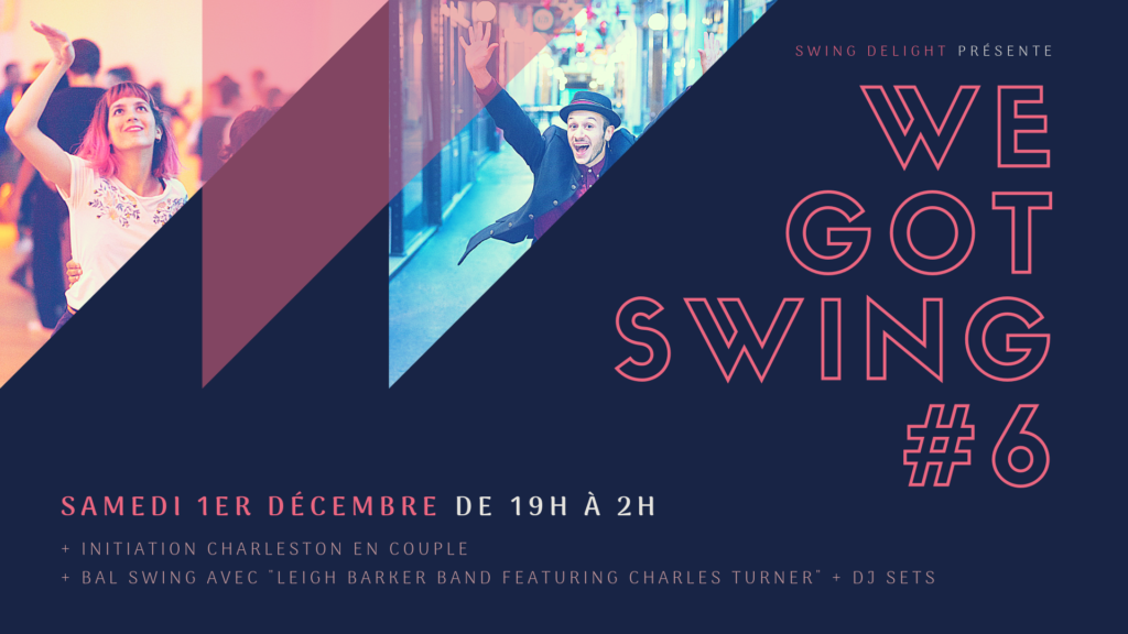 We Got Swing - Leigh Barker Band featuring Charles Turner