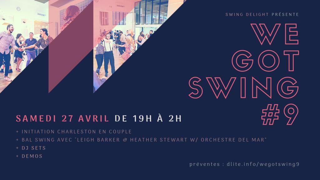 We Got Swing - Orchestre Del Mar