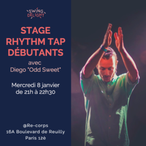 stage Rhythm tap débutants