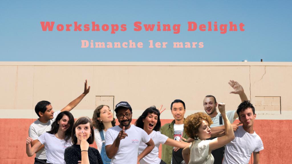 swing delight workshop team