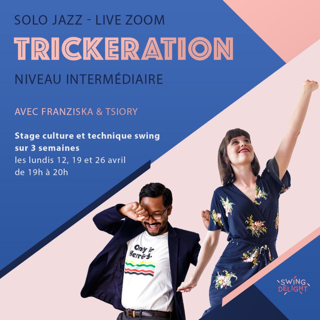 stage solo jazz trickeration